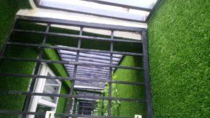 hướng dẫn thi công cỏ nhân tạo