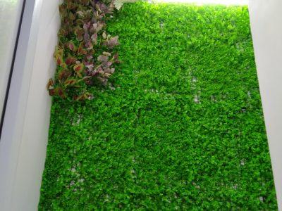 cỏ nhân tạo dán tường