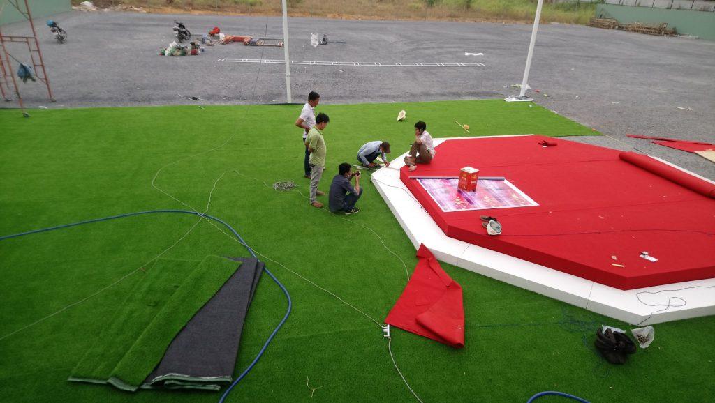 cỏ nhân tạo quận 7