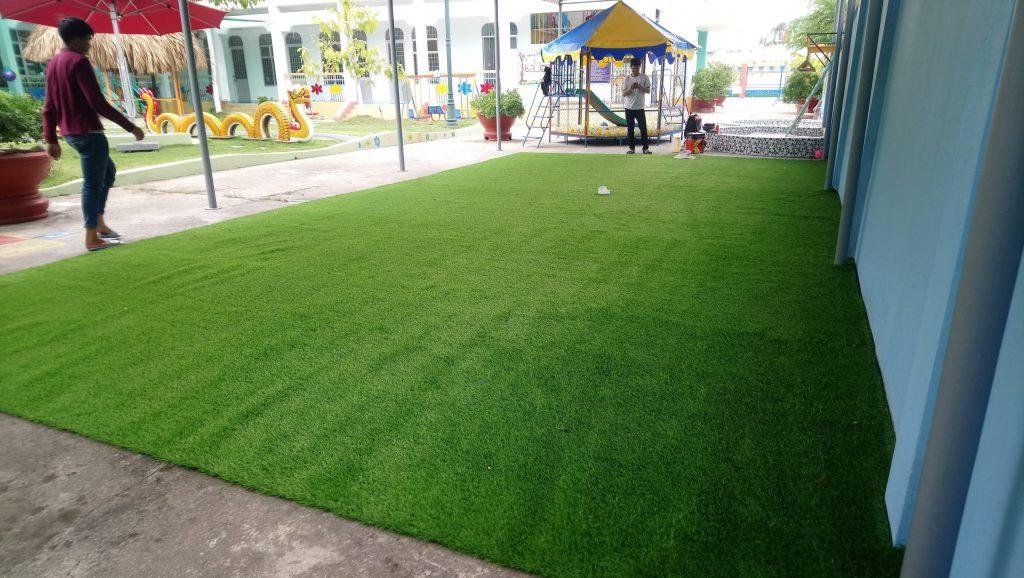 cỏ nhân tạo quận 1